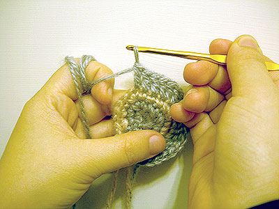 Crochet-round